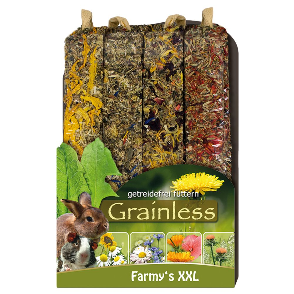 JR Farm Farmy's Grainless XXL - 2 x 4 Pack (900g)