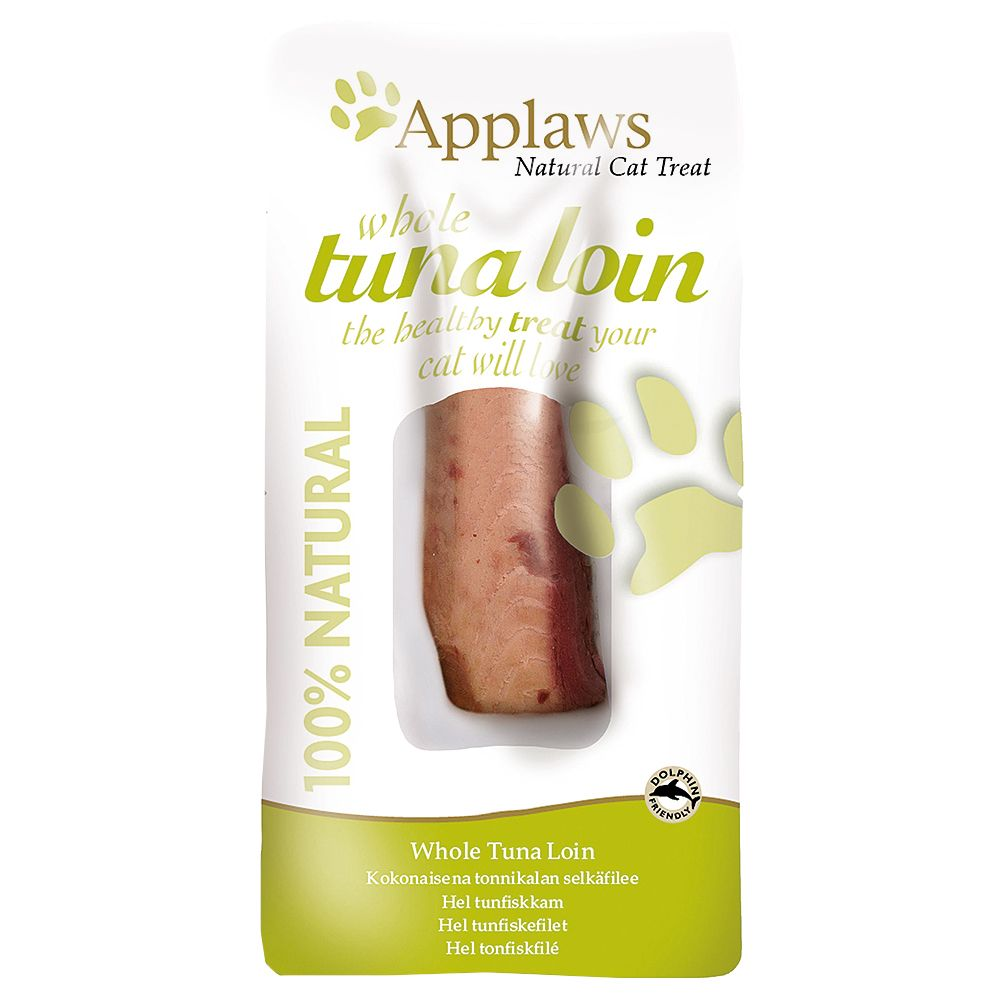 Applaws Cat Tuna Loin - Saver Pack: 3 x 30g