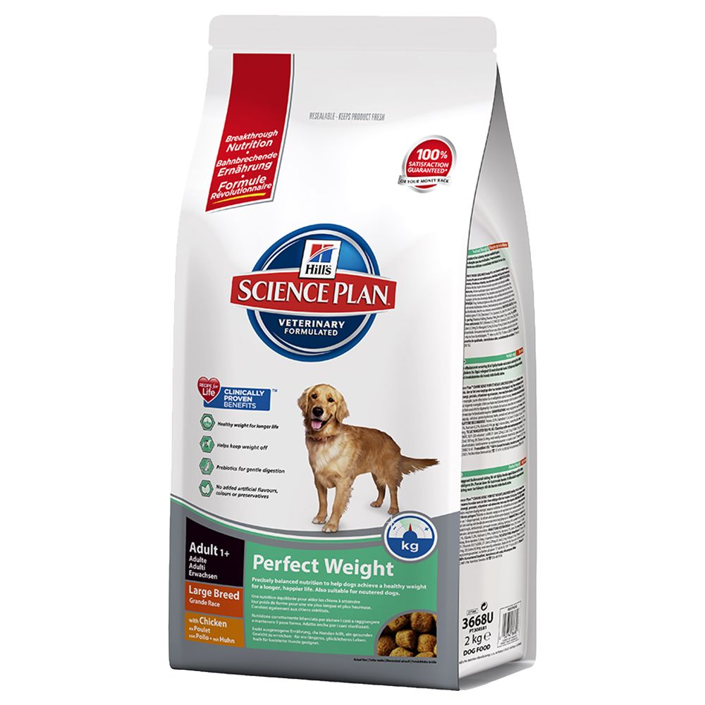 Hill's Science Plan Canine Adult - Perfect Weight Large - Economy Pack: 2 x 12kg