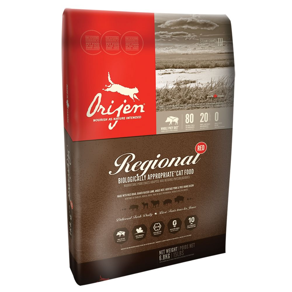 Orijen Regional Red Cat Dry Food - 6.8kg