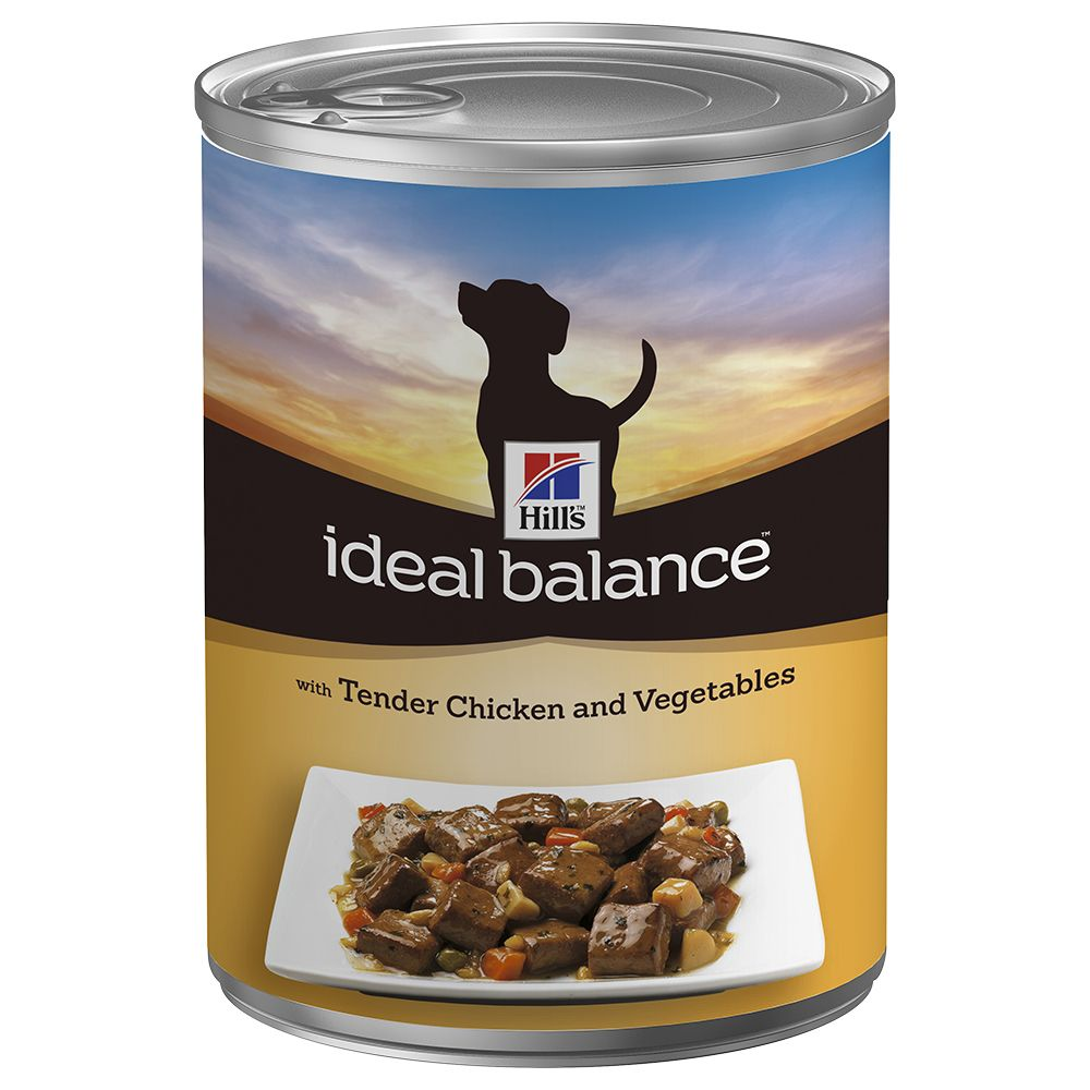 Click to view product details and reviews for Hills Ideal Balance Canine Adult Chicken 6 X 363g.