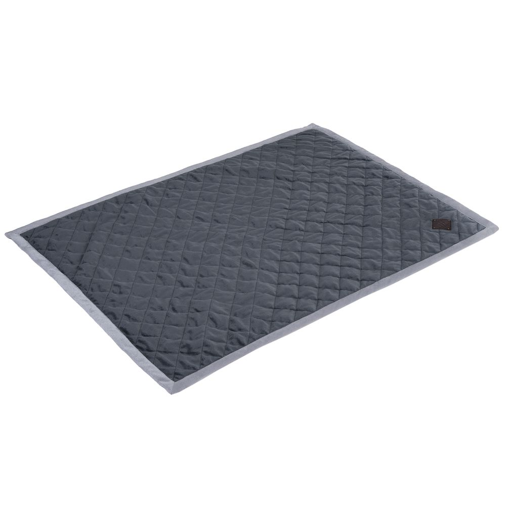The Velvet Snuggle Blanket – Granite has a very high quality finish and provides ultimate comfort for your pet. The soft upper and thick padding make for a warm an...