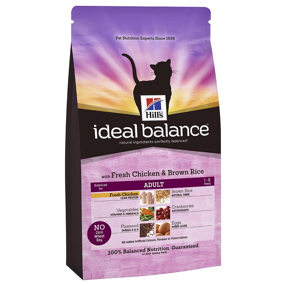 Hill´s Feline Ideal Balance Adult Chicken & Rice – 4 kg