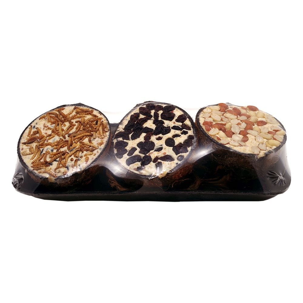 Bob Martin Coconut Halves – Set of 3 - Saver Pack: 2 x 3 half-shells