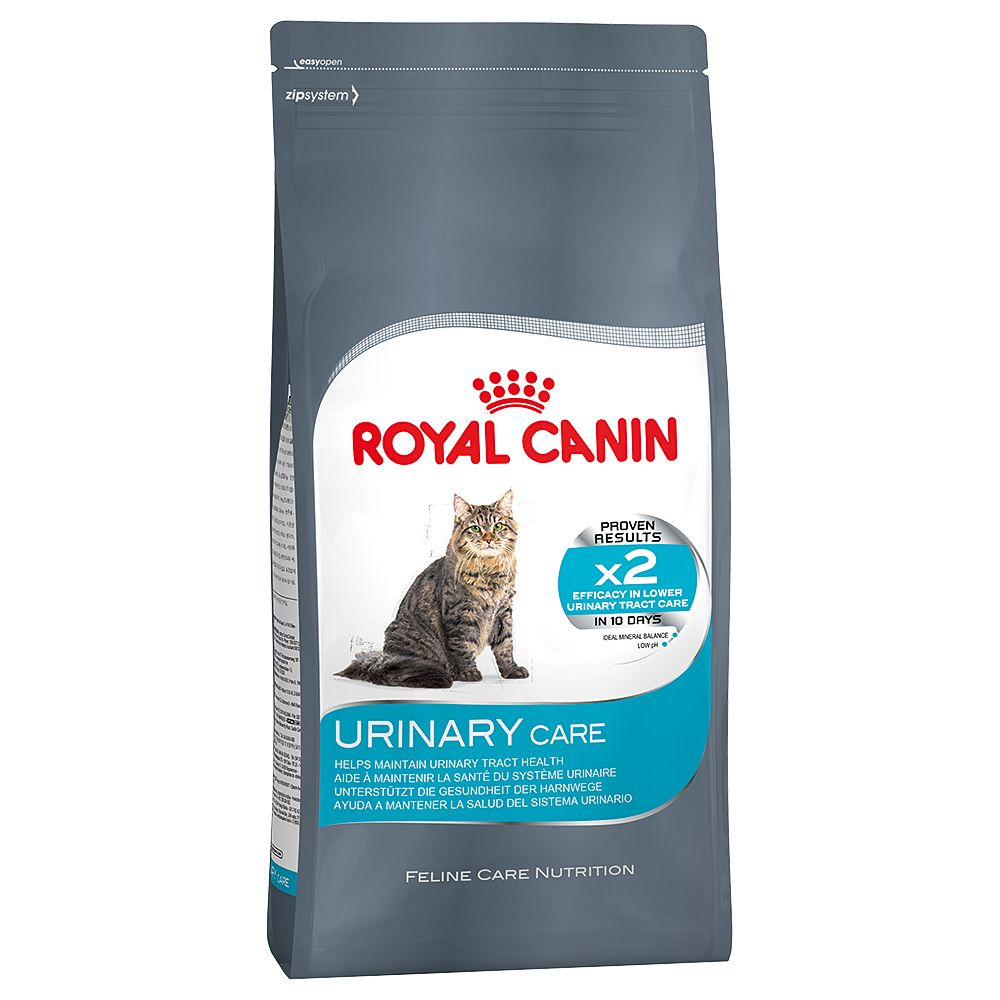 Royal Canin Urinary Care dry food is a complete food for cats that tend to suffer from struvite or oxalate urinary stones. Its special formula is adapted to meet t...