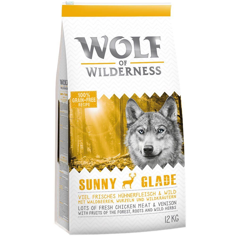 "12 kg Wolf of Wilderness Adult ""Sunny Glade"" - Wild"