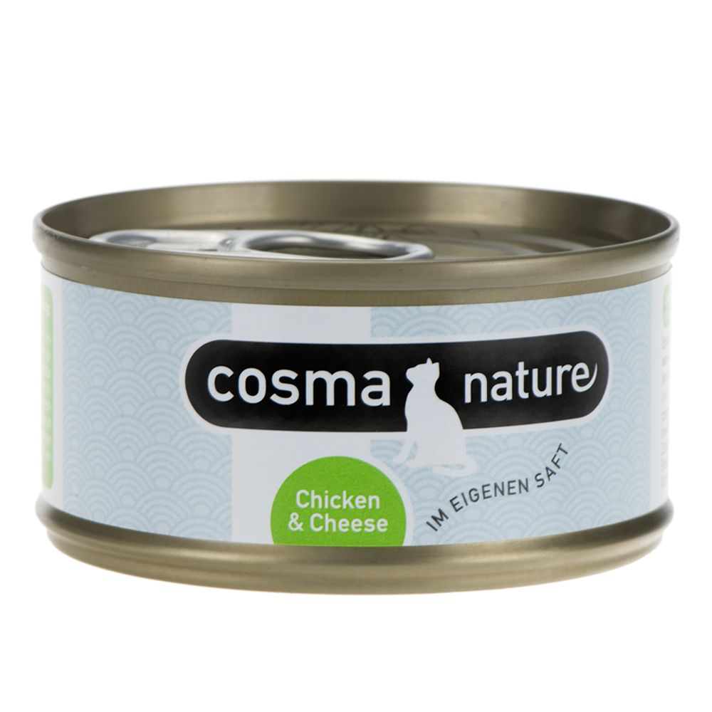 Cosma Nature Saver Pack 48 x 70g - Chicken & Cheese