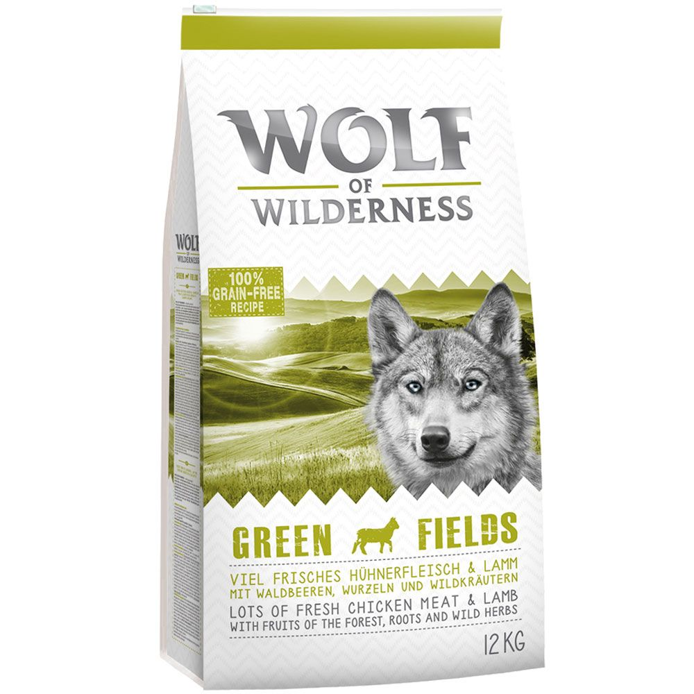 Wolf of Wilderness Green Fields – Lamb – 4 kg