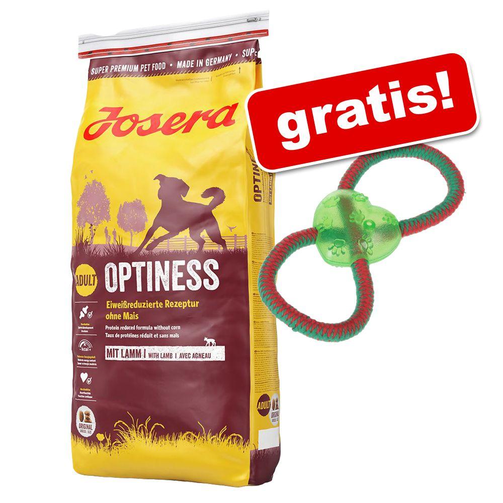 15 kg Josera + Hundespielzeug Tau mit Herz gratis! - SensiPlus
