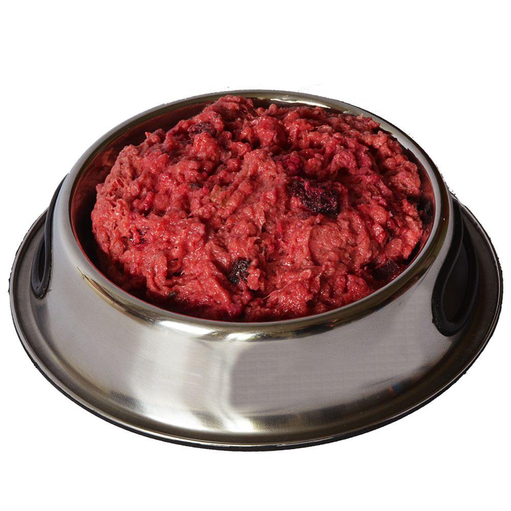 proCani BARF Light Huhn Menü mit Rote Beete und Frischkäse - 20 x 2 x 200 g