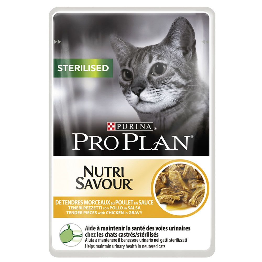 Pro Plan Sterilised - 24 x 85 Sterilised Chicken