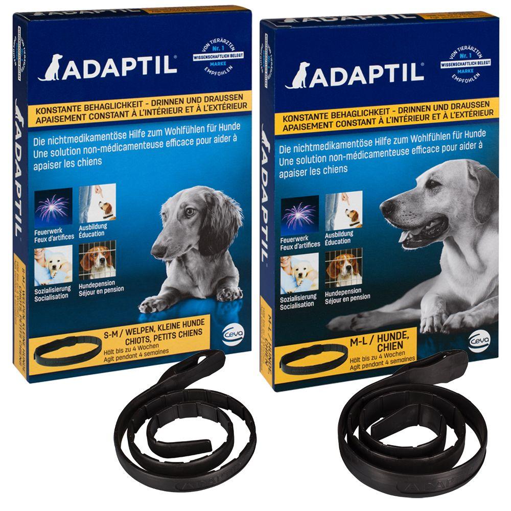 Image of Adaptil Beruhigungshalsband für Hunde - 2 Stück im Sparset (45 cm)