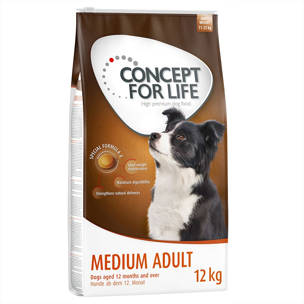 Concept for Life Medium Adult - Economy Pack: 2 x 12kg