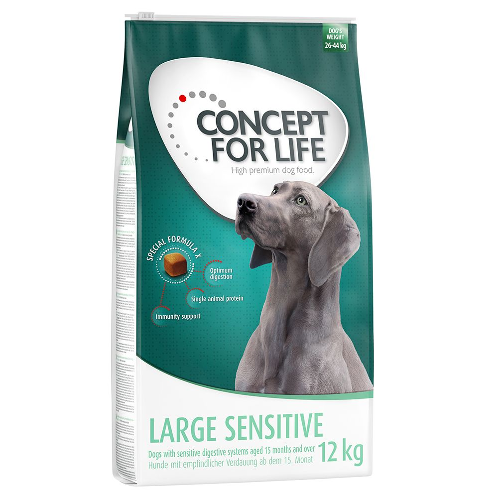 Large Sensitive Concept for Life Dry Dog Food