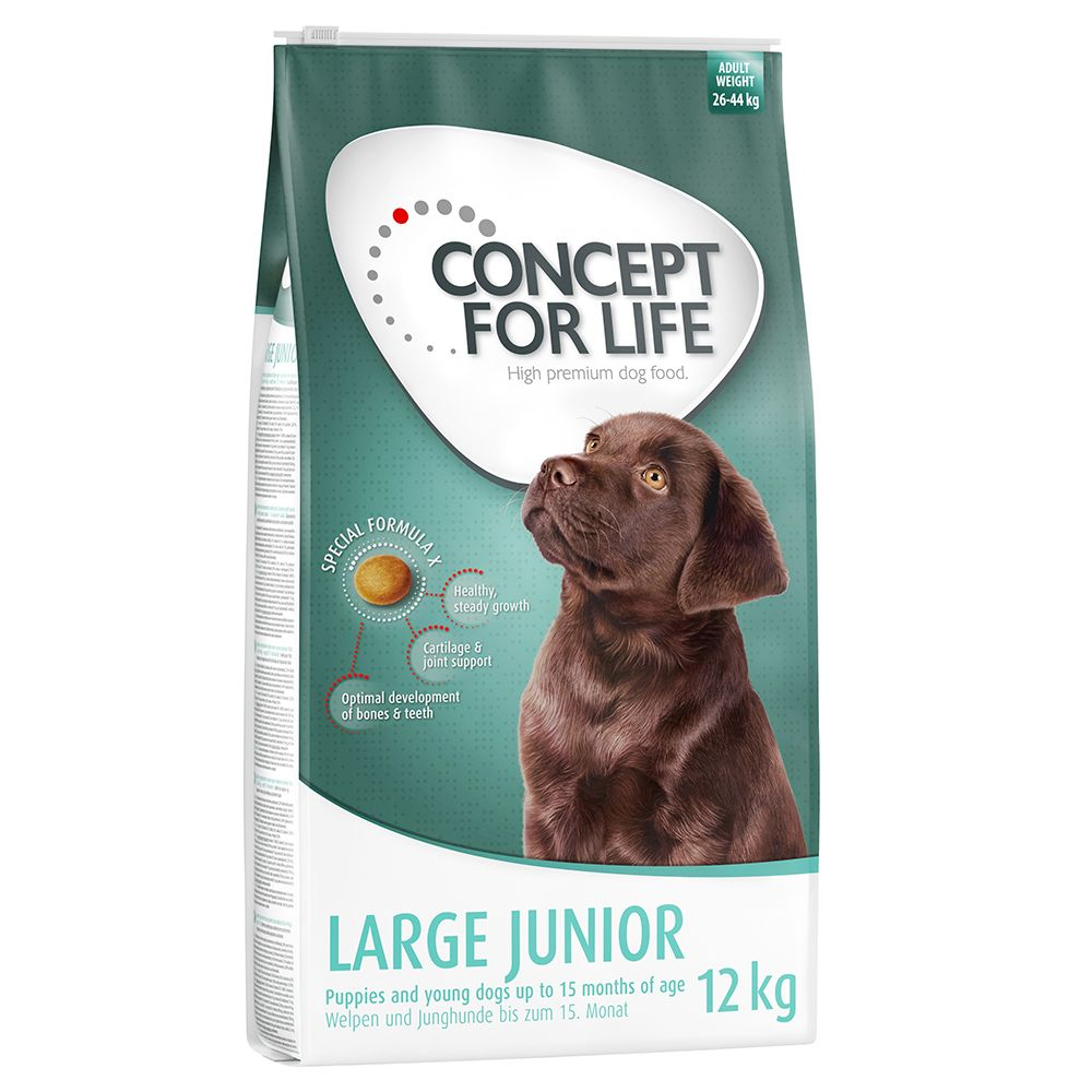 Concept for Life Large Junior - Economy Pack: 2 x 12kg