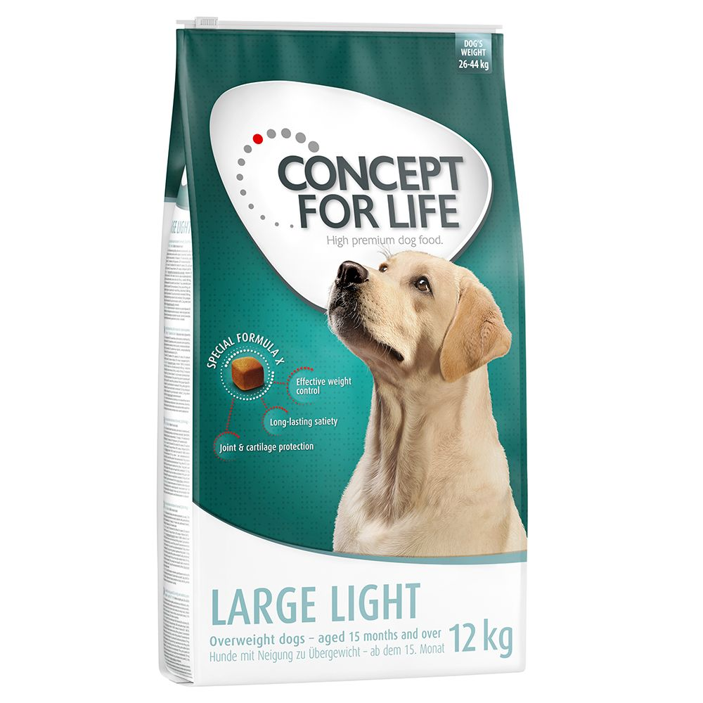Large Light Concept for Life Dry Dog Food