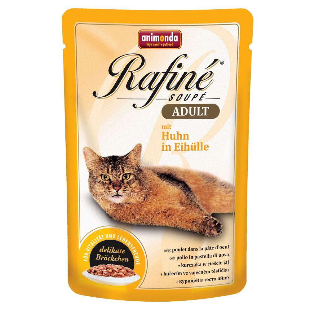 Animonda Rafiné Soupé, 24 x 100 g  Kitten, indyk, serce i marchewki