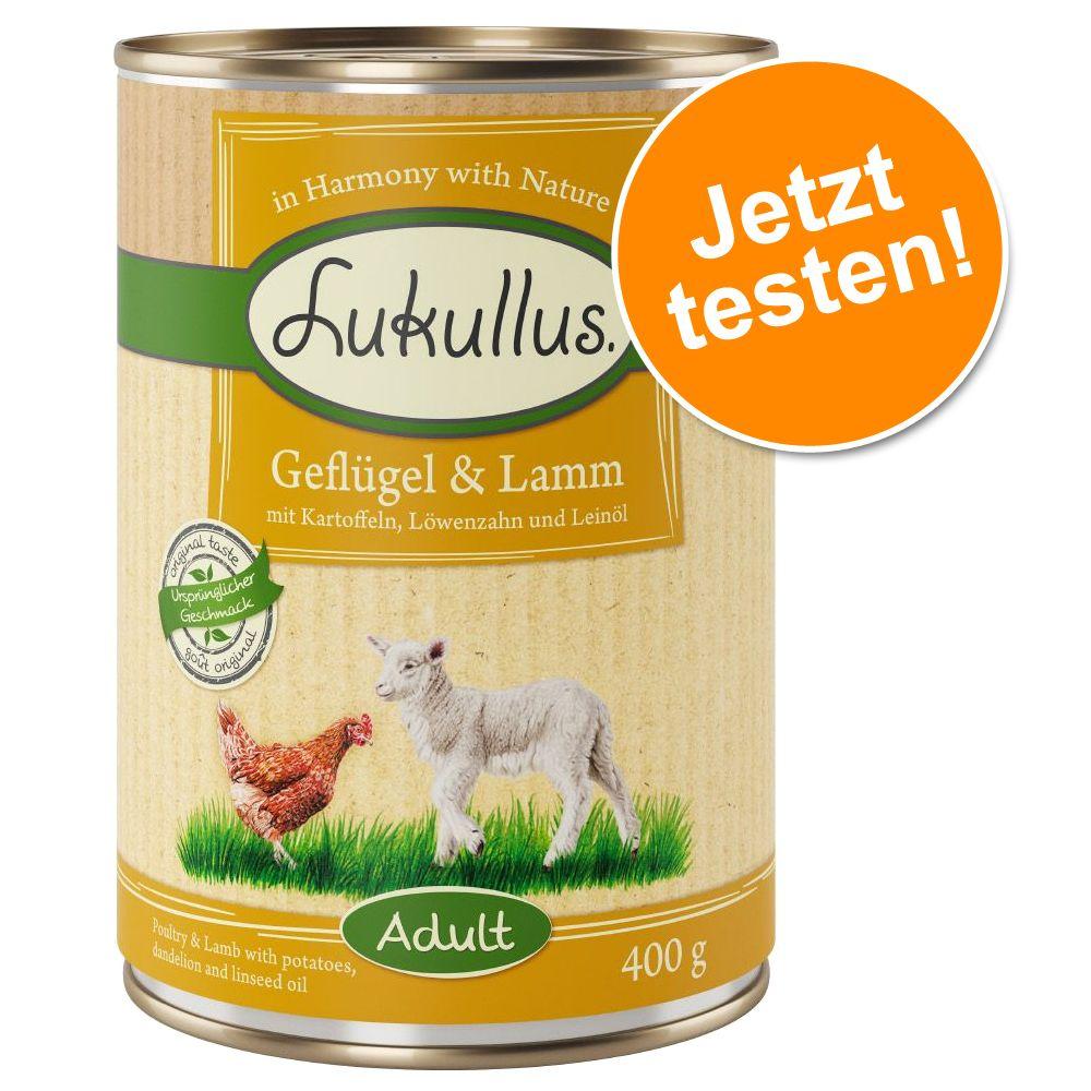Lukullus Naturkost 6 x 400 g / Frischebeutel 6 ...