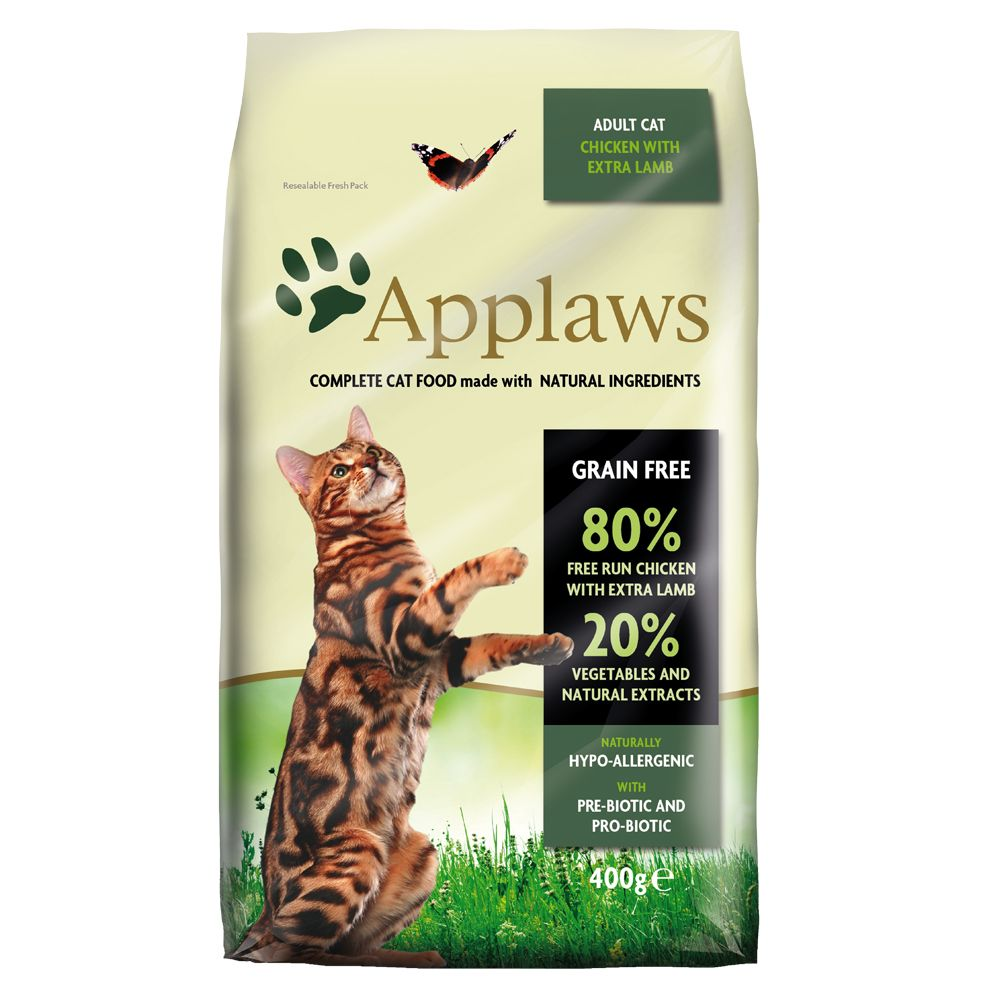 INOpets.com Anything for Pets Parents & Their Pets Applaws Chicken & Lamb Cat Food - 400g