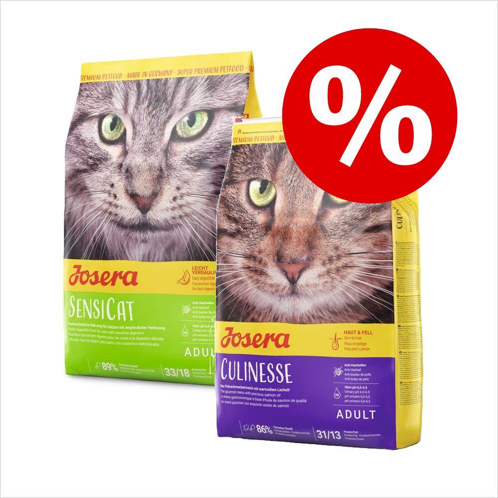 Ekonomipack: 2 x 2 kg Josera kattfoder Nature Cat