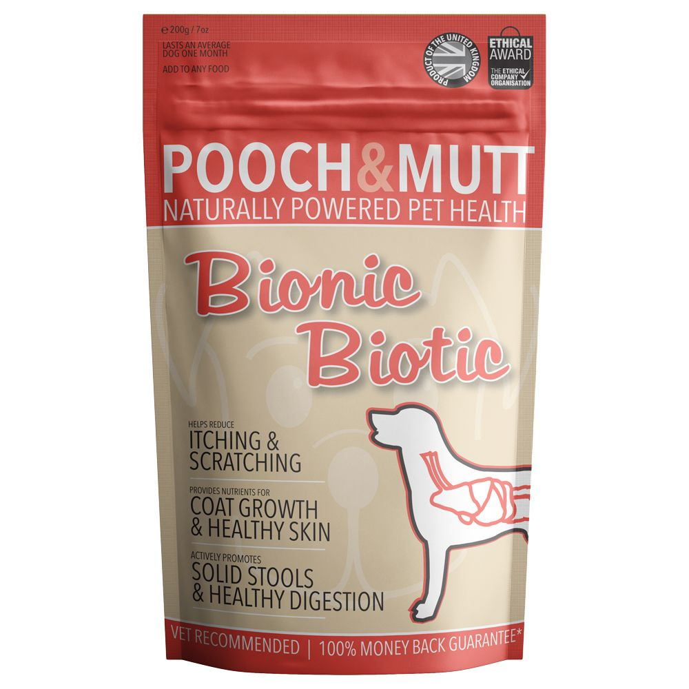 Pooch & Mutt - Bionic Biotic Supplement - 200g