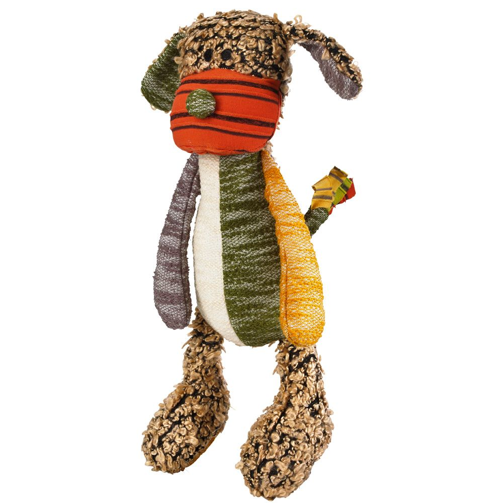 Hunter Patchwork Hobbs Dog Toy - approx. 40cm