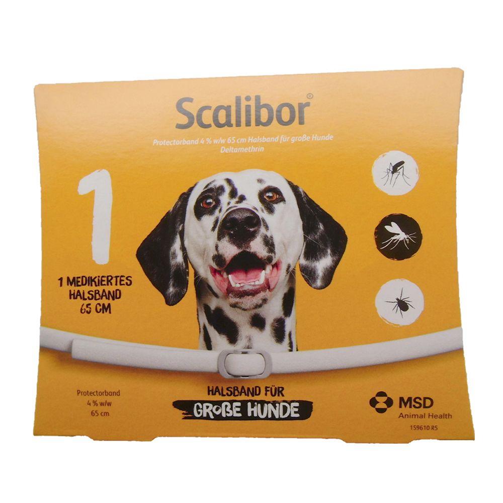 Scalibor® Protectorband 4% Halsband für Hunde - 65 cm Halsband für große Hunde, 1 Stück