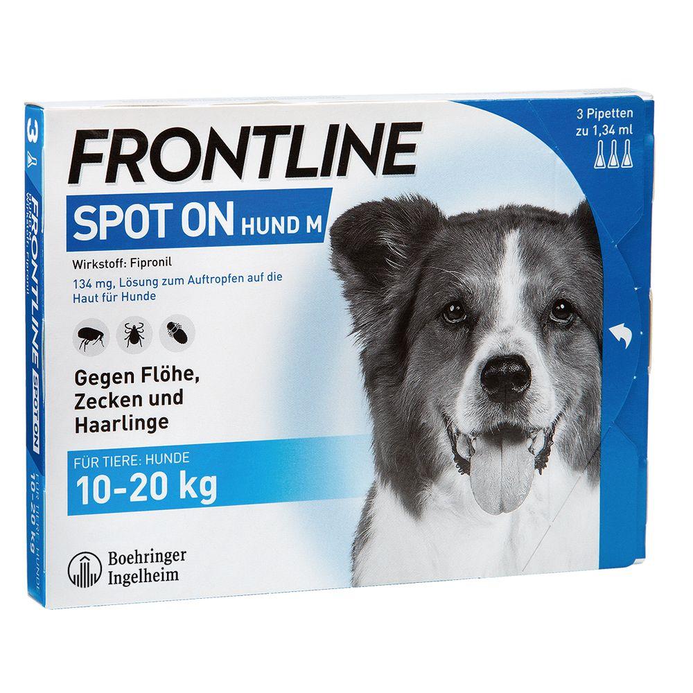 Frontline® Spot on Hund M - 6 Pipetten x 1,34 ml