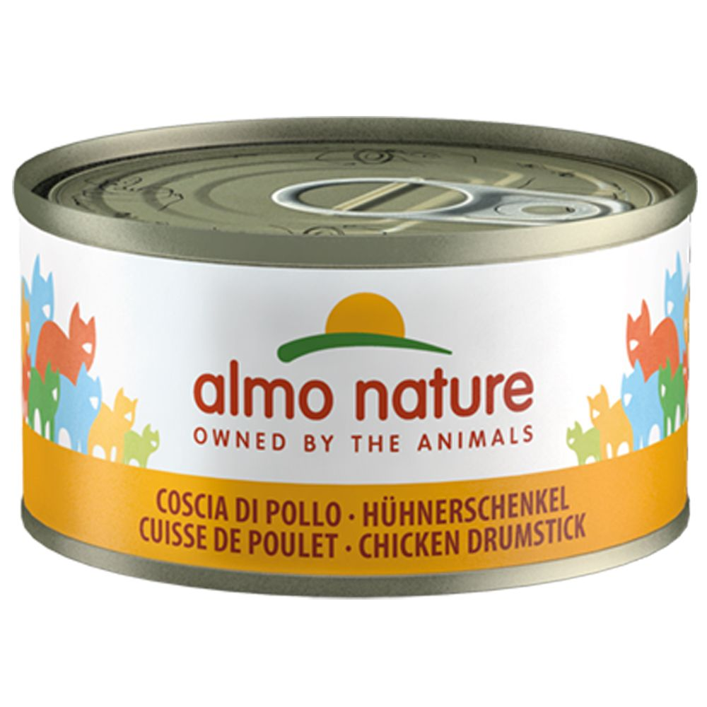 6x70g Salmon & Carrot Almo Nature Legend Wet Cat Food