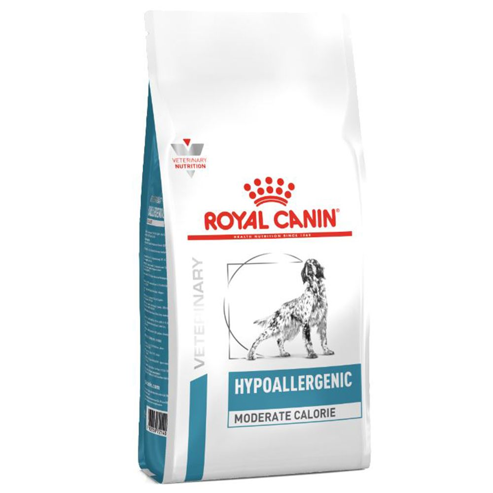 14kg Hypoallergenic Moderate Calorie Royal Canin Veterinary Dog Food