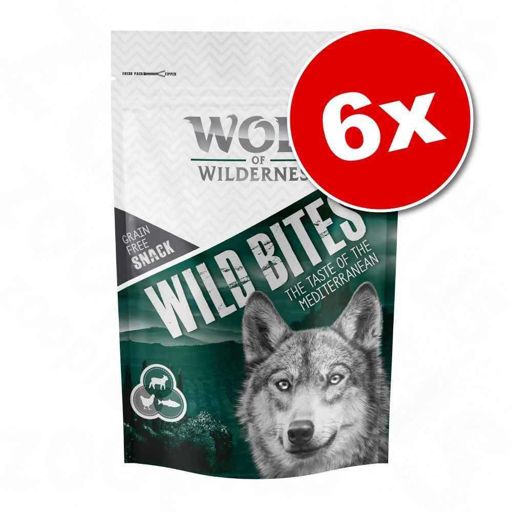 6x180g Bouchées The Taste of Canada Wolf of Wilderness - Friandises pour chien