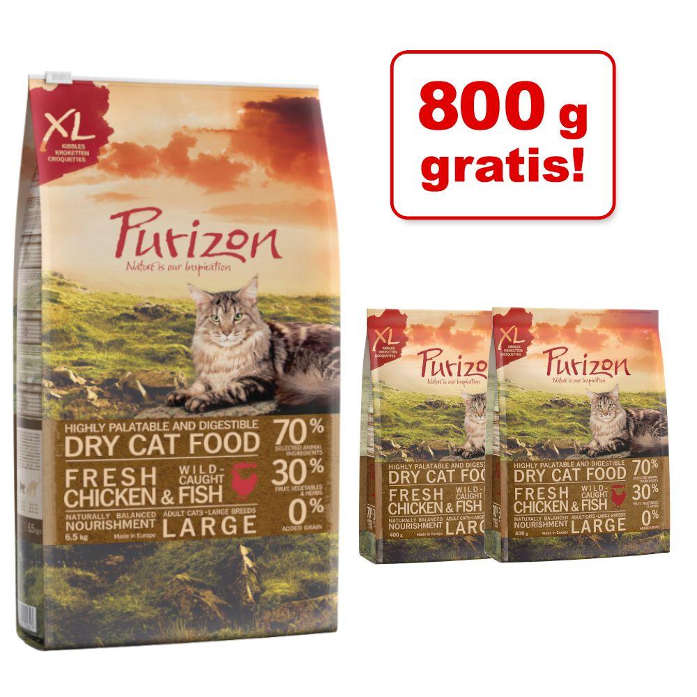 6,5 kg Purizon + 800 g gratis! - Adult Wildschwein & Huhn