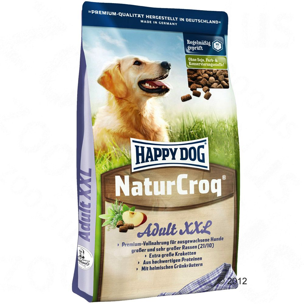 Happy Dog NaturCroq XXL - 15 kg