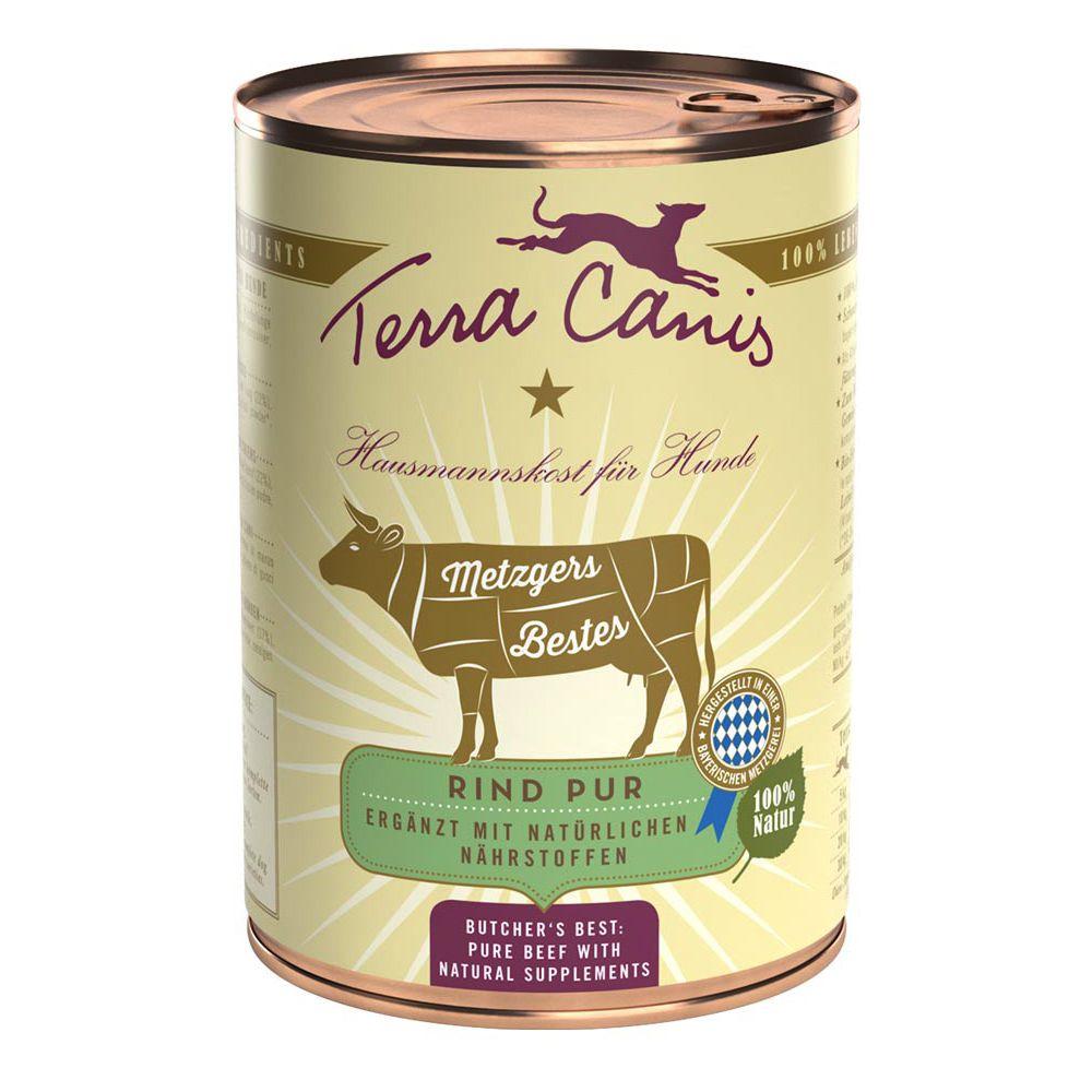 Foto Terra Canis Il Meglio della Macelleria 6 x 400 g - Manzo puro Senza cereali