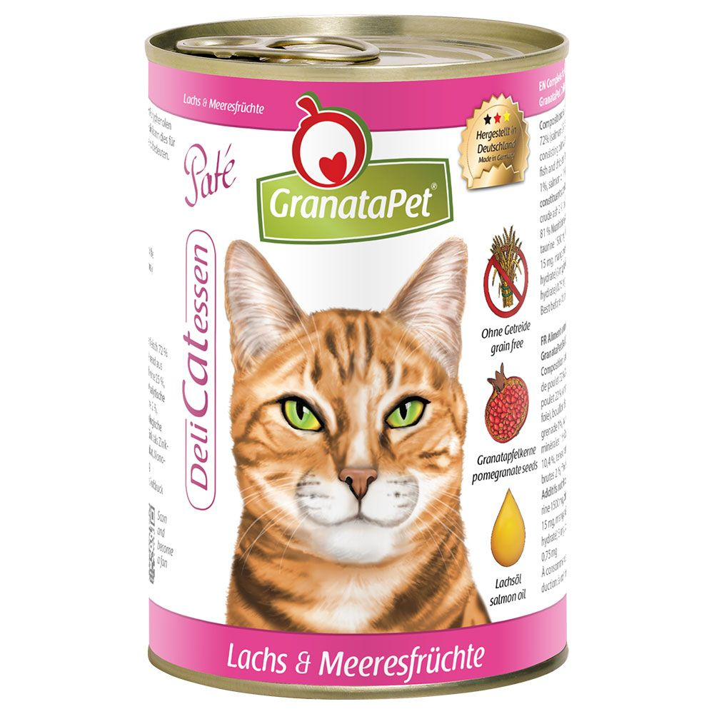 GranataPet Cat DeliCatessen 6 x 400g - Lamb & Turkey