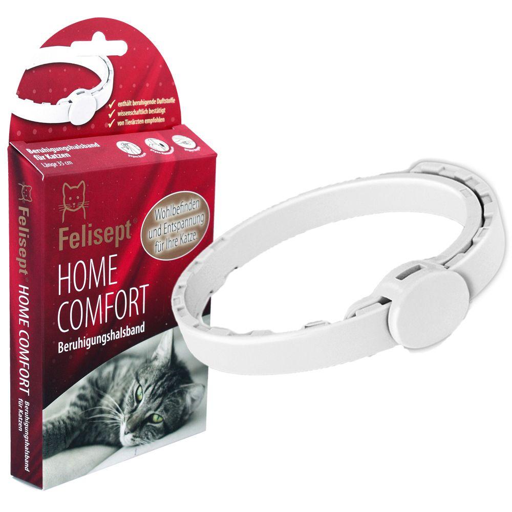 Felisept Home Comfort lugnande halsband - Ekonomipack: 2 lugnande halsband à 35 cm
