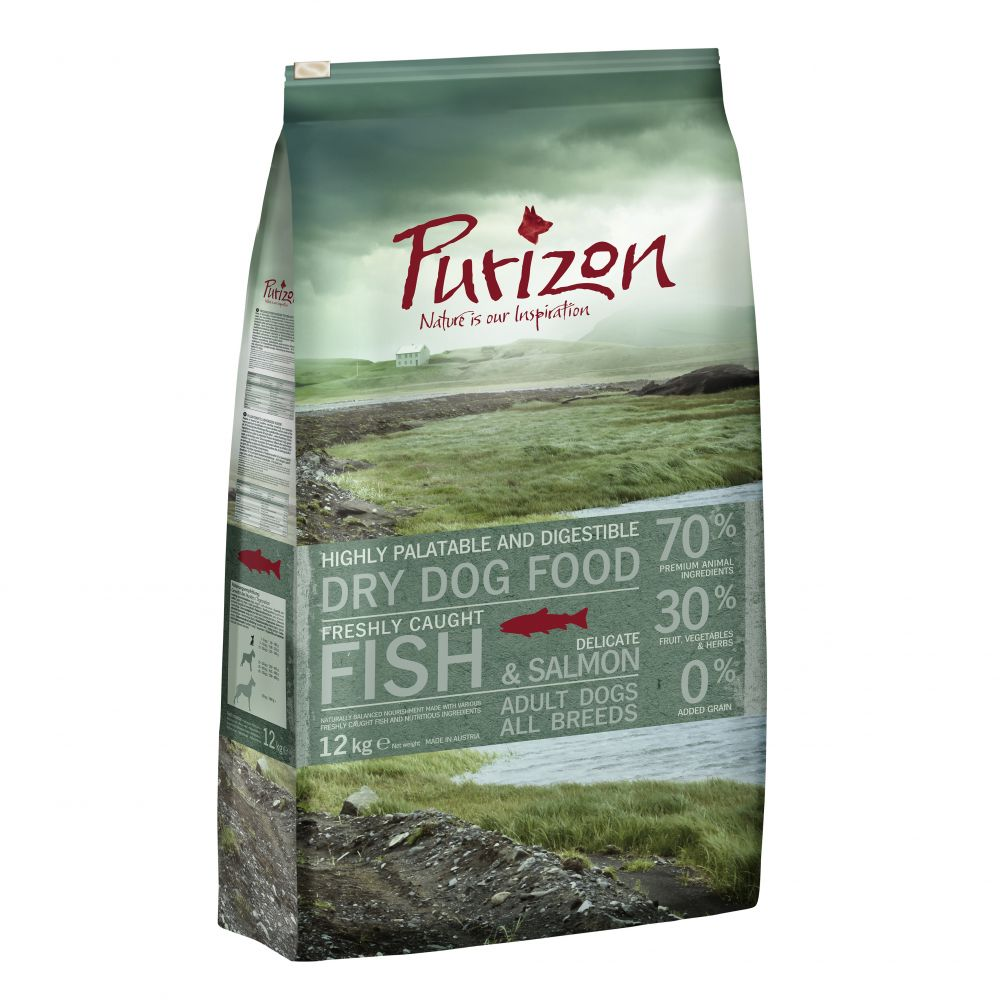 Grain-Free Fish Purizon Dry Dog Food