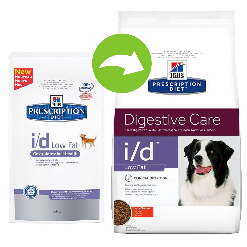 Hill's Prescription Diet Canine - i/d Digestive Care Low Fat - Economy Pack: 2 x 6kg