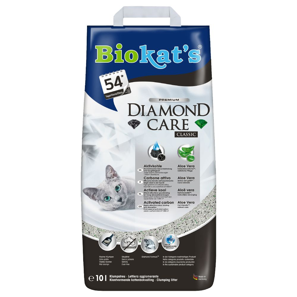 Biokat's Diamond Care Classic Cat Litter - 10l