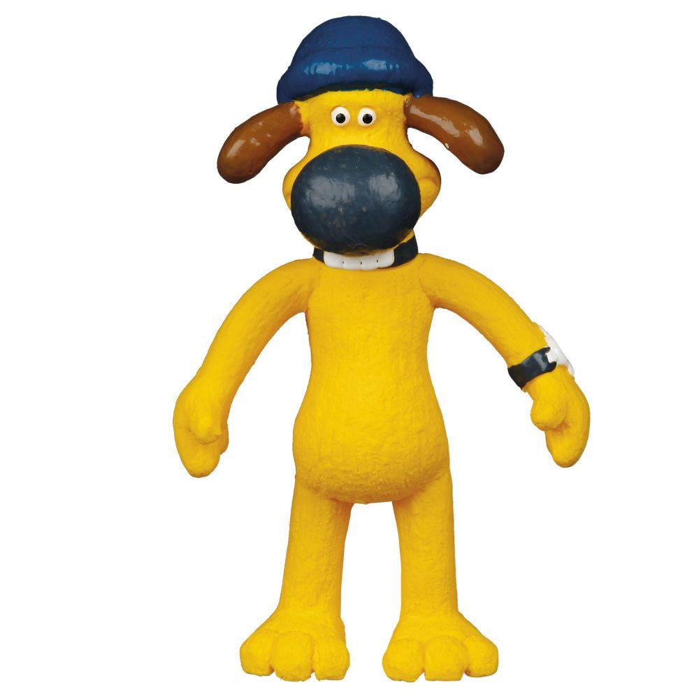 Jouet Trixie Shaun le mouton, Bitzer pour chien - L 11 x l 10,5 x H 18 cm