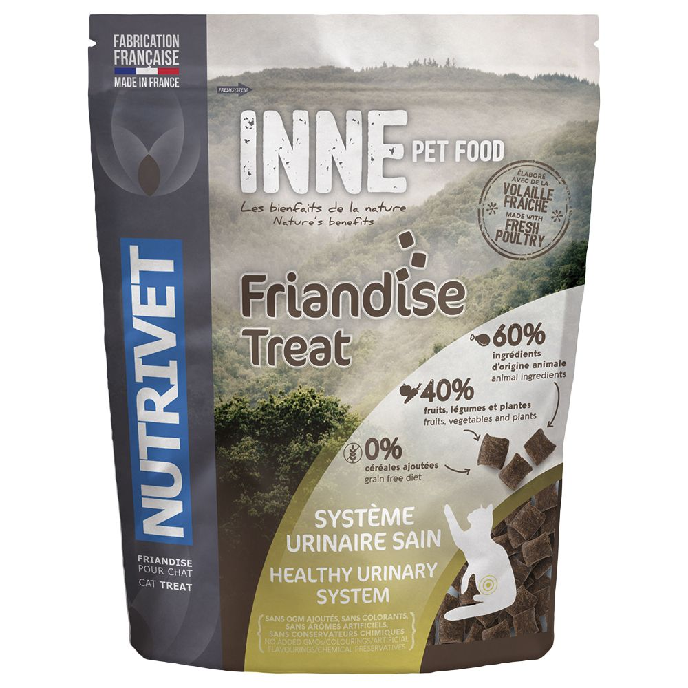Nutrivet Inne Urinary Comfort Cat Treats - Saver Pack: 3 x 250g