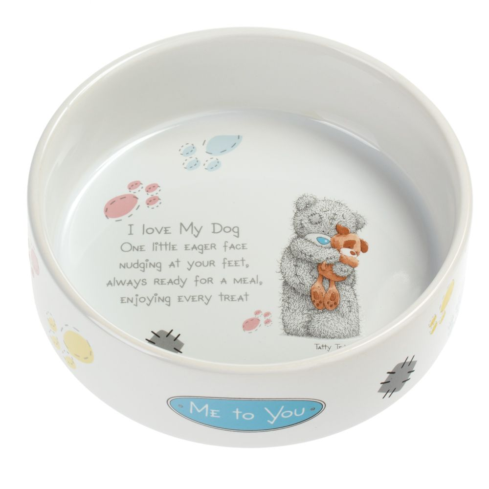 Me to You Ceramic Dog Bowl