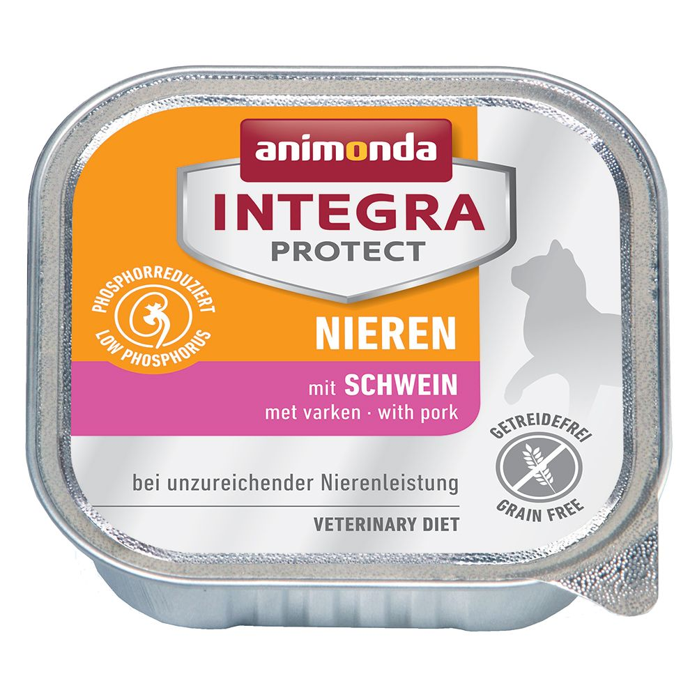 Renal Beef Animonda Integra Protect Wet Cat Food