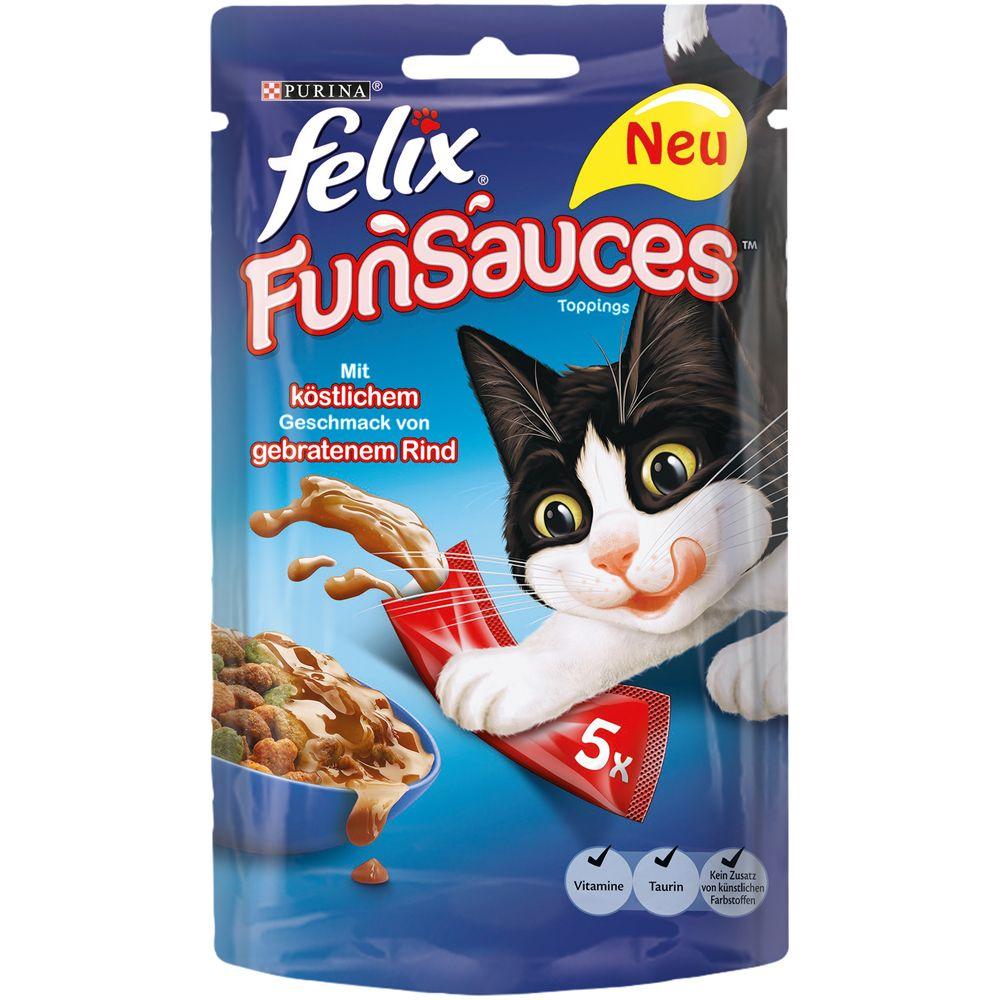 Felix FunSauces 5 x 15 g - Sparpaket: 10 x 5 x ...