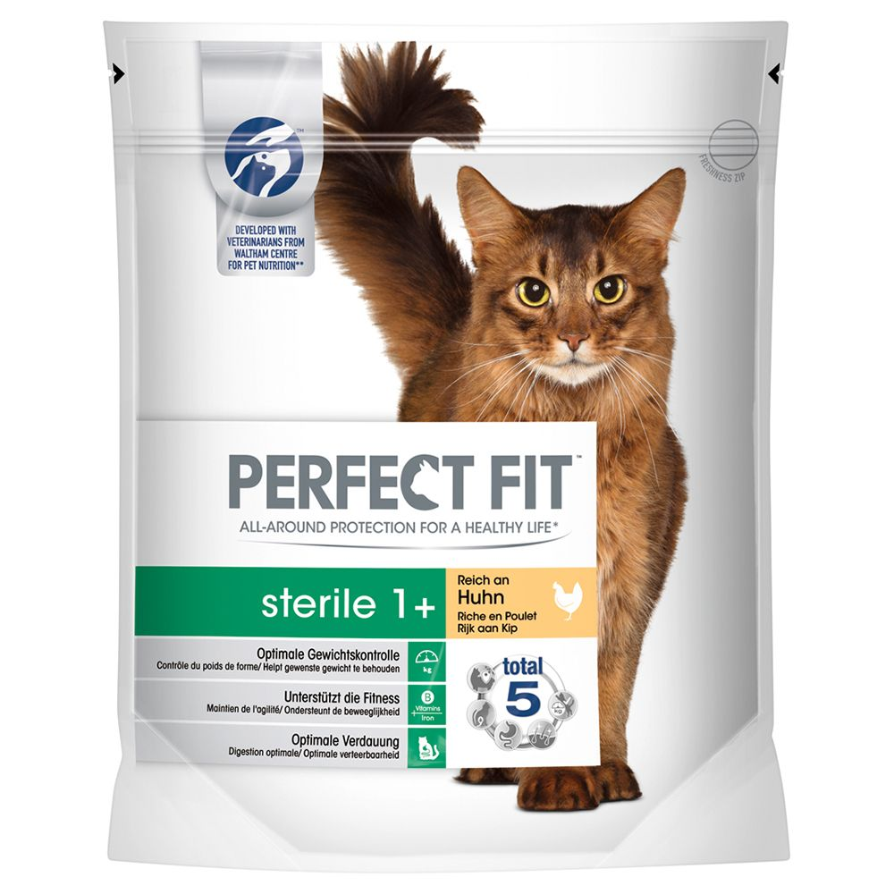 Perfect Fit Sterile 1+ Rich in Chicken - Economy Pack: 3 x 1.4kg