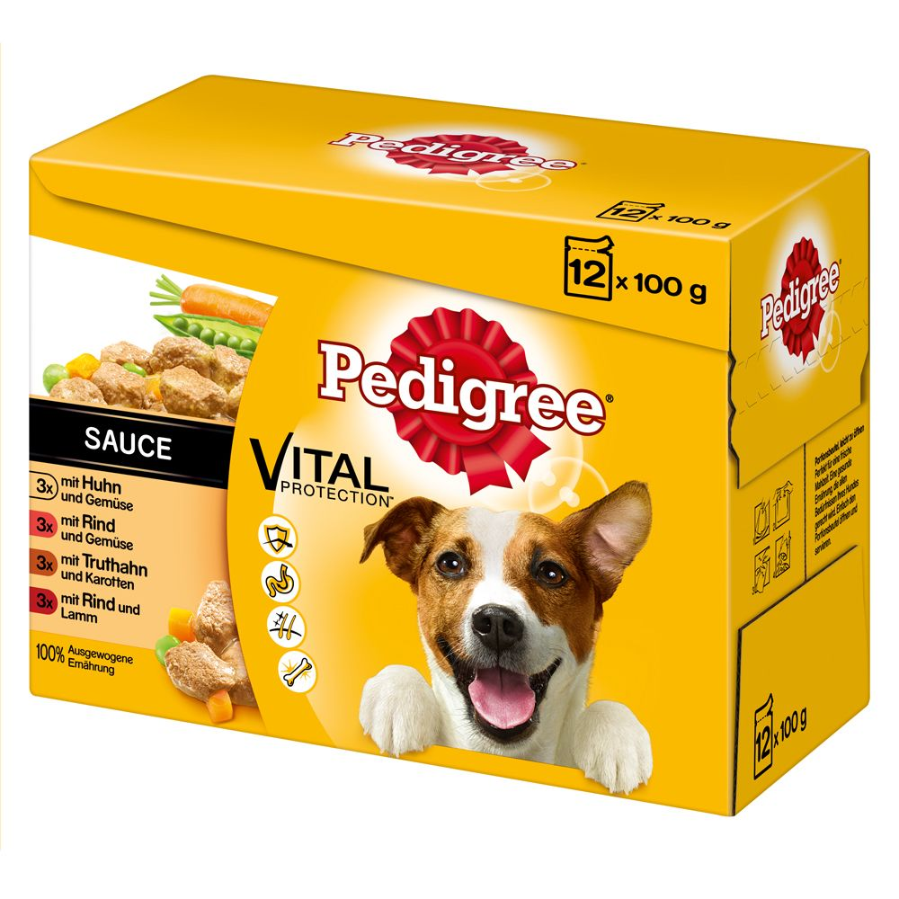 Pedigree Gravy Pouch Multipack Wet Dog Food