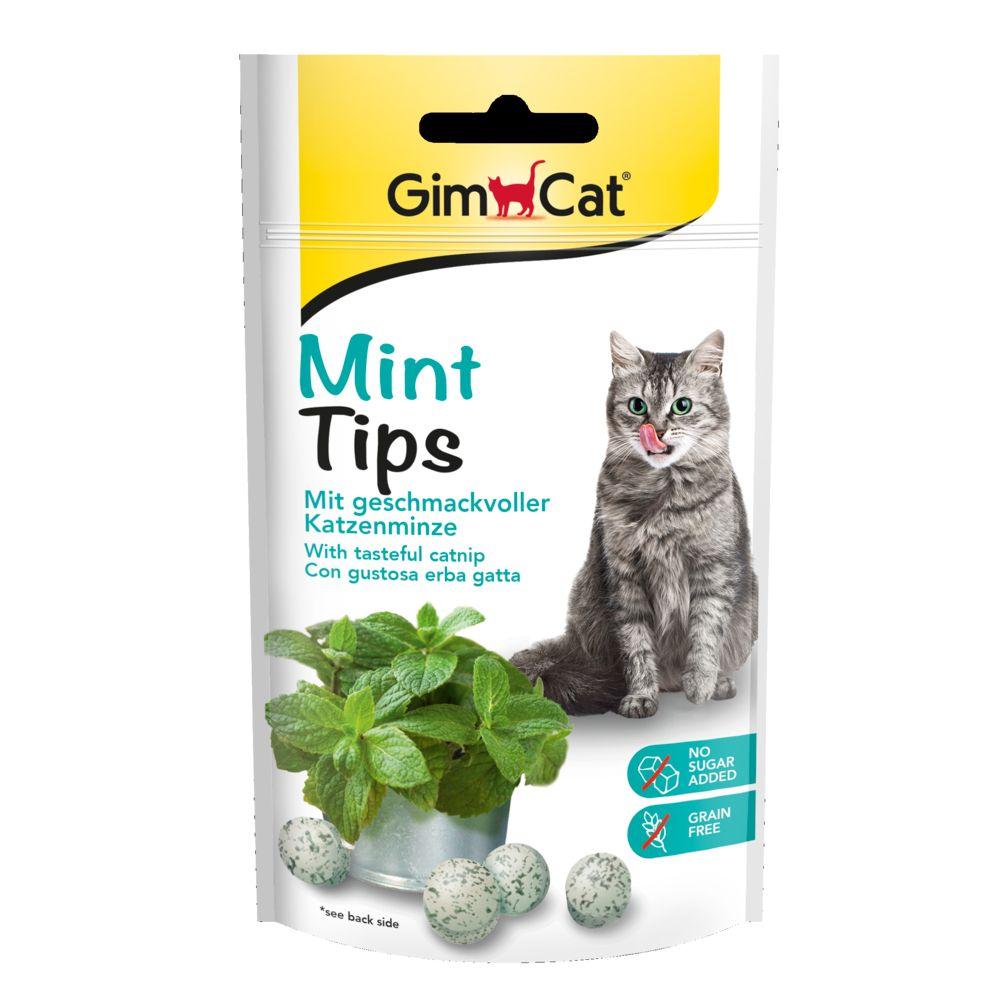 GimCat Mintips Ekonomipack: 3 x 40 g