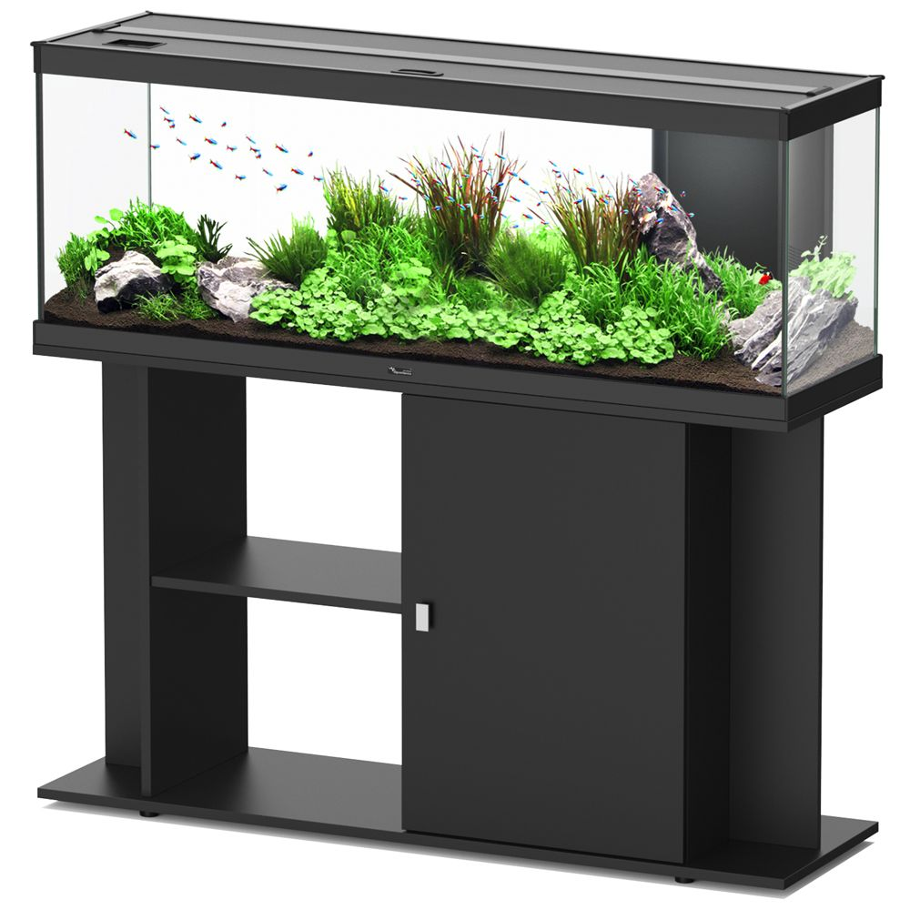 Aquatlantis Style LED 120 x 40 Aquarium Set - Black