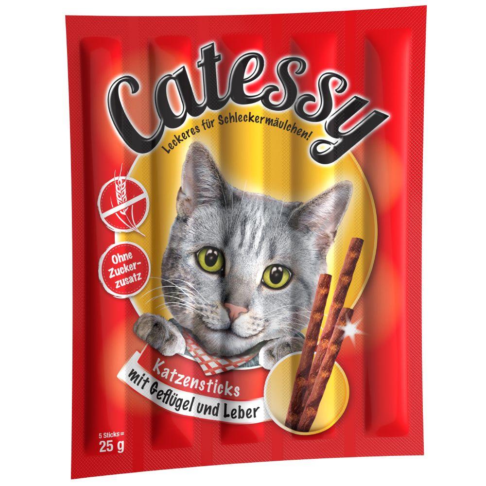 Catessy Sticks Bar-B-Q - Bar-B-Q z indykiem, 10 szt