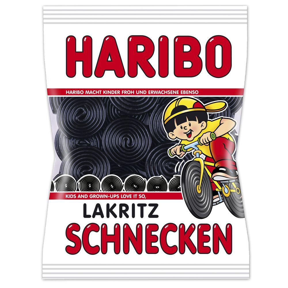 Haribo Lakritz Schnecken - 200 g